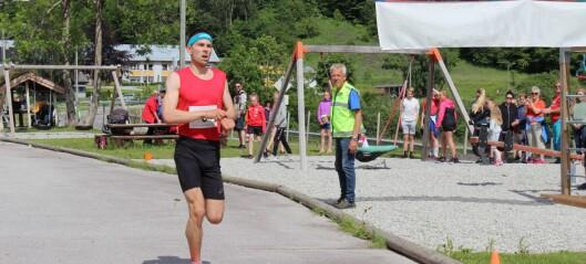 Geir Steig (24) vann Lustraløpet med god margin