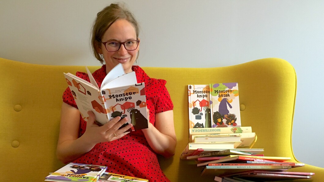 NY REDAKTØR: Ylva T. Tyssing er tilsett som ny barnebokredaktør i SKALD.