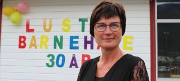 I 30 år har Evy jobba i same barnehage: – Ungane held meg ung