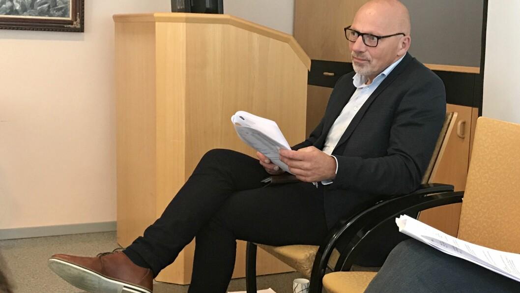 UTFORDRANDE: Rådmann Stig Stark-Johansen seier det er utfordrande å rekruttera til helse.