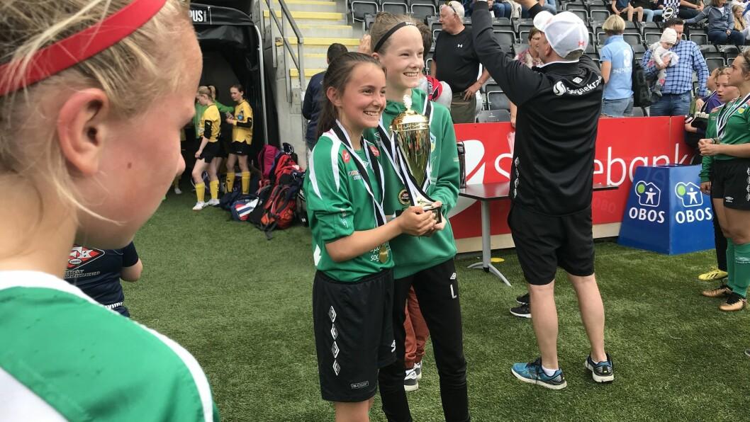 SIKRA GULLET: Kaupanger trakk det lengtste strået i finalen mot Åsane.