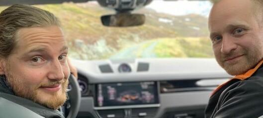 Porsche spelte inn ny reklamefilm i Sogn