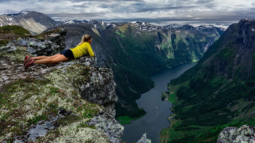 VEKAS FOTO: Utsyn over Nærøyfjorden.