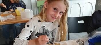 Unge kunstnarspirarar fekk måla i nasjonalromantiske omgjevnader