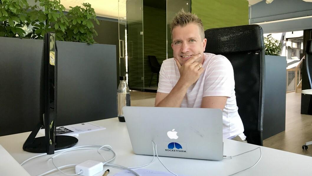 VIND I SEGLA: Rocketfarm og dagleg leiar Egil Mundal har skaffa pengar til å satsa vidare internasjonalt.