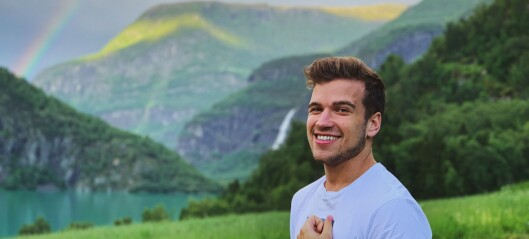 Tomas (21) reiser heim til Skjolden så ofte han kan
