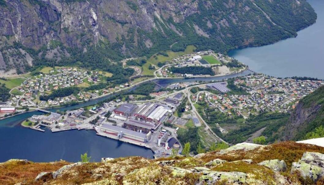 LÅGAST I LANDET: Årdal kommune er i år óg nedst på lista, og har dei lågaste kommunale avgiftene i landet.