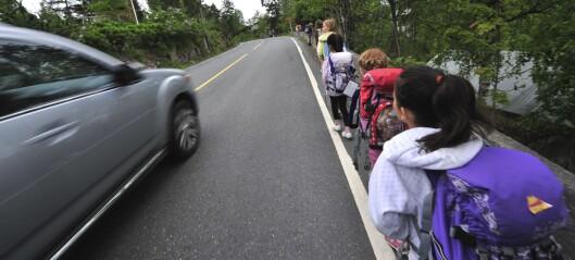 Melding til foreldrene: – Mindre bilar rundt skulen gjer tryggare skuleveg