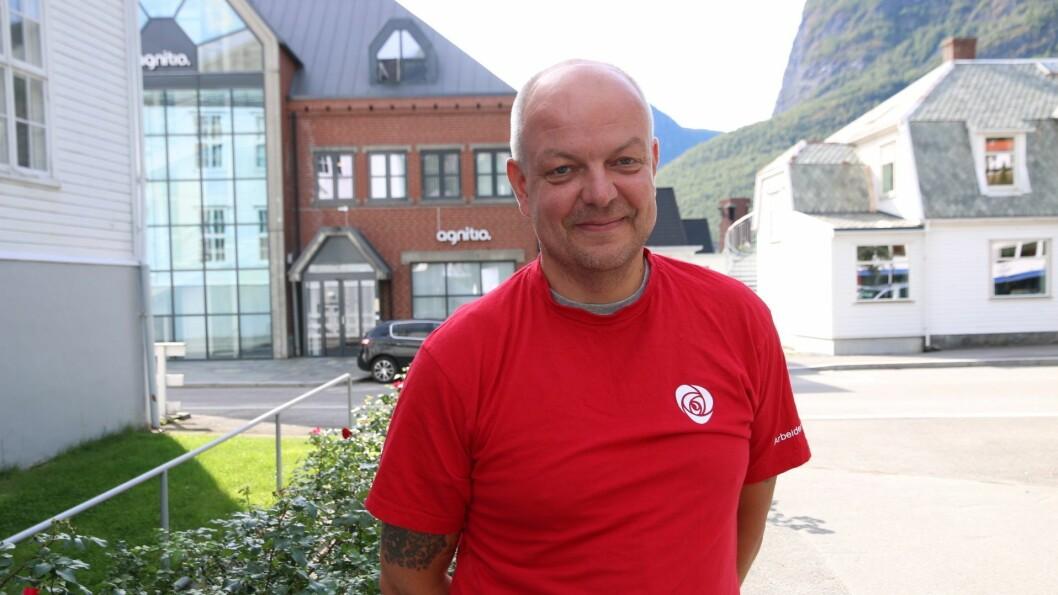 KOMMUNEVAL: Hilmar Høl førstekandidat for Årdal Arbeidarparti.