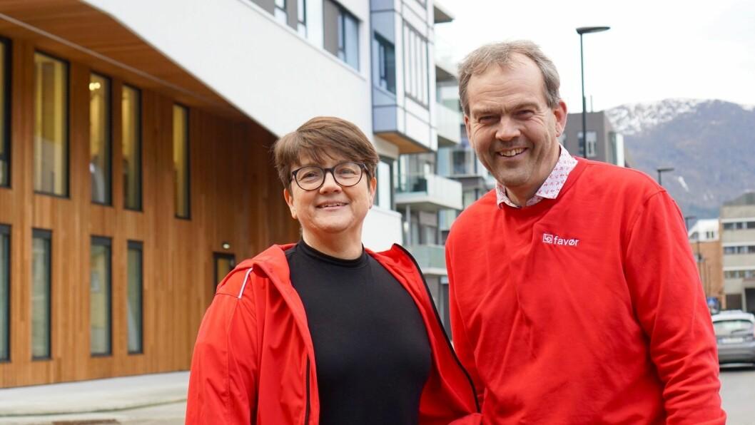 LO: Anne Kristin Førde og Nils Støyva.
