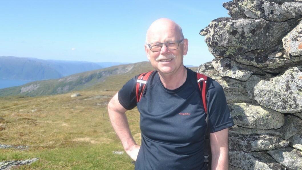 KAMP: Kampen mot vindkraft i fjella vert ei viktig sak for Raudt Høyanger, ifølgje førstekandidat Einar Rysjedal.