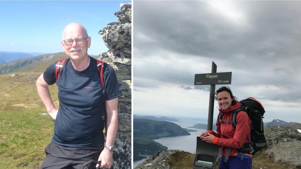 VERN: Einar Rysjedal (t.v.) frå Høyanger og Ingunn Kjelstad frå Gaular arbeider saman om å verne fjella i kommunane mot vindkraft i den interkommunale informasjonskomiteen.