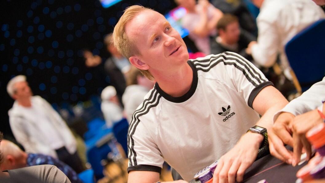 NÆRE PÅ: Ole Einar Rebni frå Kaupanger greidde nesten å spela seg til finalebordet i Poker-NM.