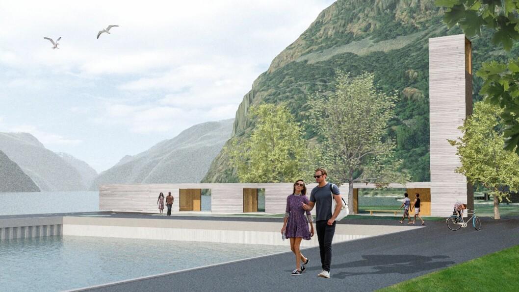 Her blir det liv! I alle fall om vedtak om finansiering av signalbygget «Fjord til Fjell» kjem på plass.