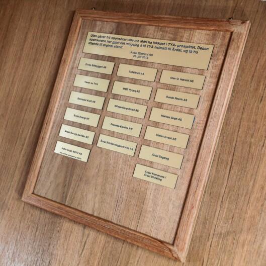 Alle desse har gitt viktige bidrag til å få Tya heim. Og det er plass til fleire!