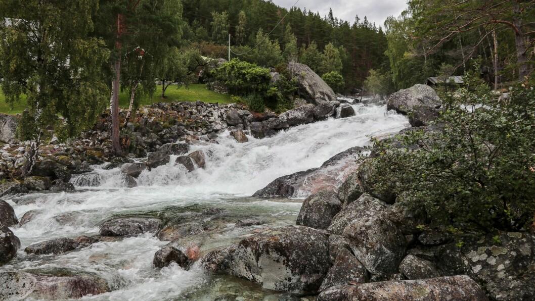 Starten: Industrien som nyttar fallande vatn starta i Offerdalen, det er ei viktig brikke i forteljinga om Årdal.