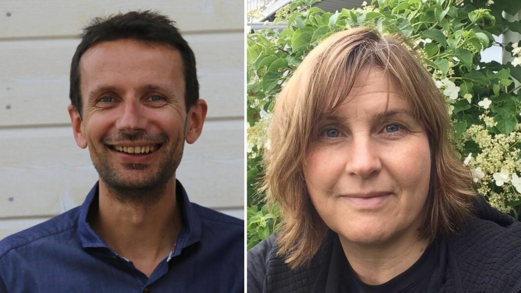 SJAKKTREKK: Frode Bøthun (KrF) og Trude Risnes (Venstre) har fått plass i det nye formannskapet i Sogndal.