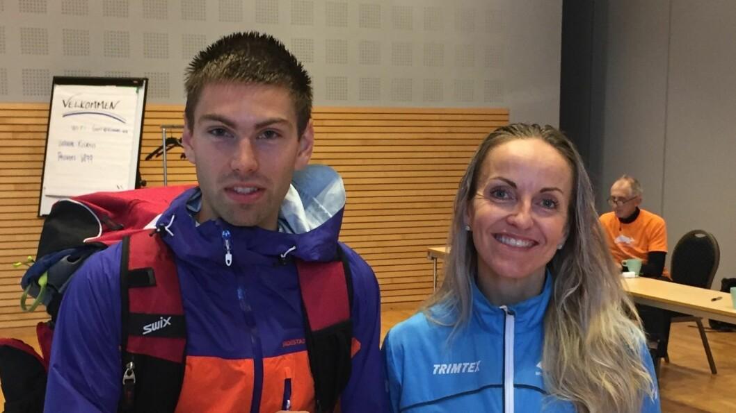 VINNARANE: Vinnarane av årets Balestrand opp var Geir Steig og Anita Iversen Lilleskare.