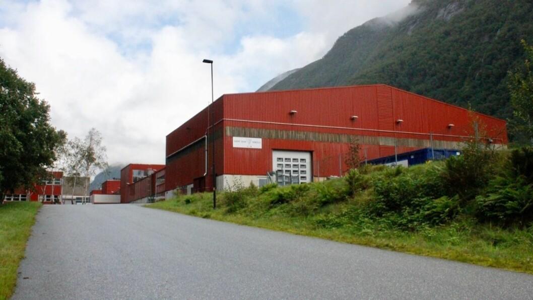 NY AKTIVITET: Det kan komme fleire ulike aktørar inn i det tidlegare Fundo-bygget i Høyanger frå neste år av dersom alt går som planlagd, fortel Hydrokraft AS.