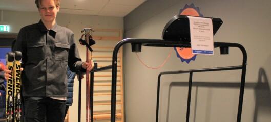 Ser fram til å ta i bruk rulleski-mølle i satsinga mot OL