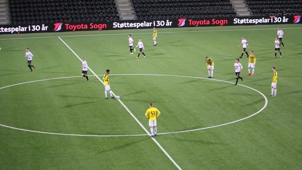 HISTORISK: Sogndal U19 møter finske Honka FC i aller første europaligakamp på Fosshaugane stadion.