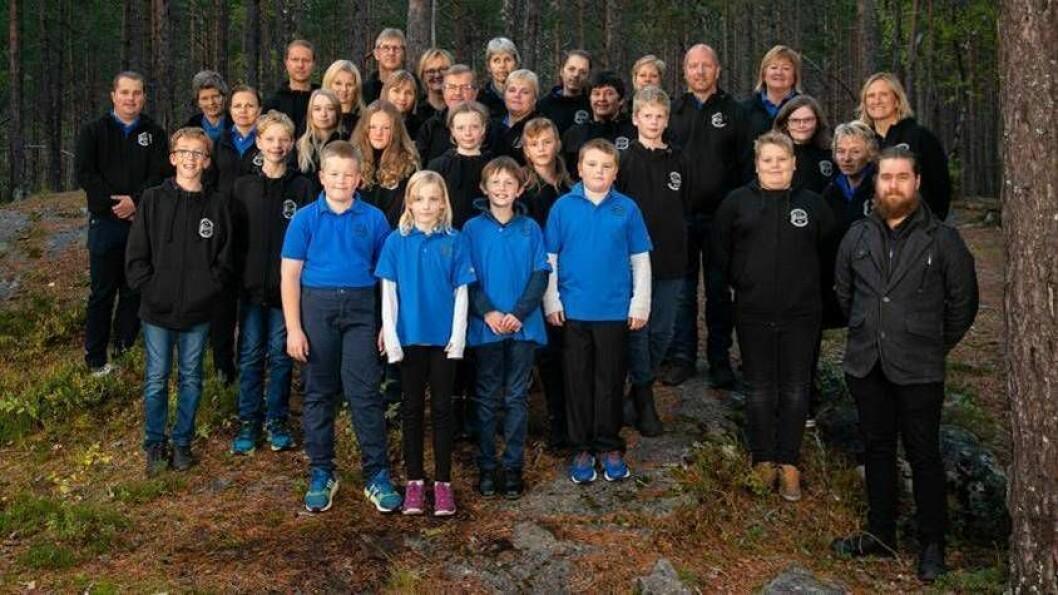 Kaupanger skule- og ungdomsskorps har omlag 40 medlem per i dag, og såg behovet for å investere i nye instrument.
