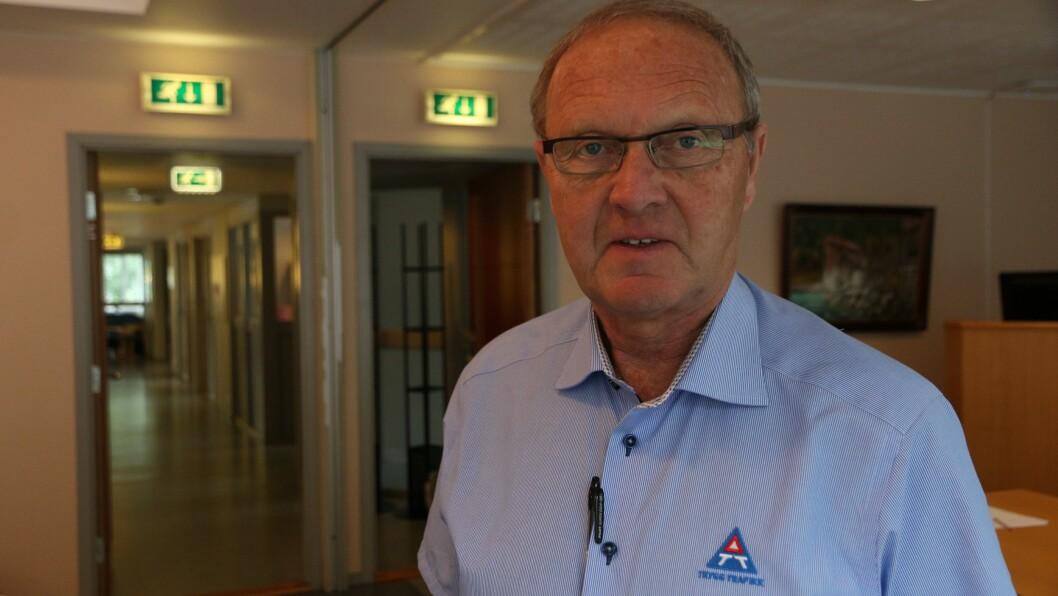 FEKK PRIS: Audun Heggestad fekk tysdag pris for sitt arbeid med trafikktrygging.