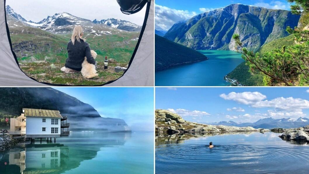 INDRE SOGN: Bileta syner vakker natur i Indre Sogn.