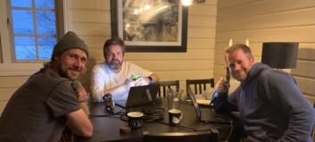Starta podcast med historier frå varmestovene