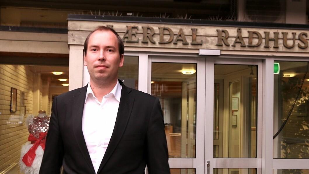 FUNGERANDE RÅDMANN: Lars Bogstad er tilsett som fungerande rådmann i Lærdal kommune.