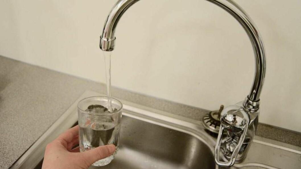TRYGT: Springvatnet på Årdalstangen er igjen trygt å drikka.