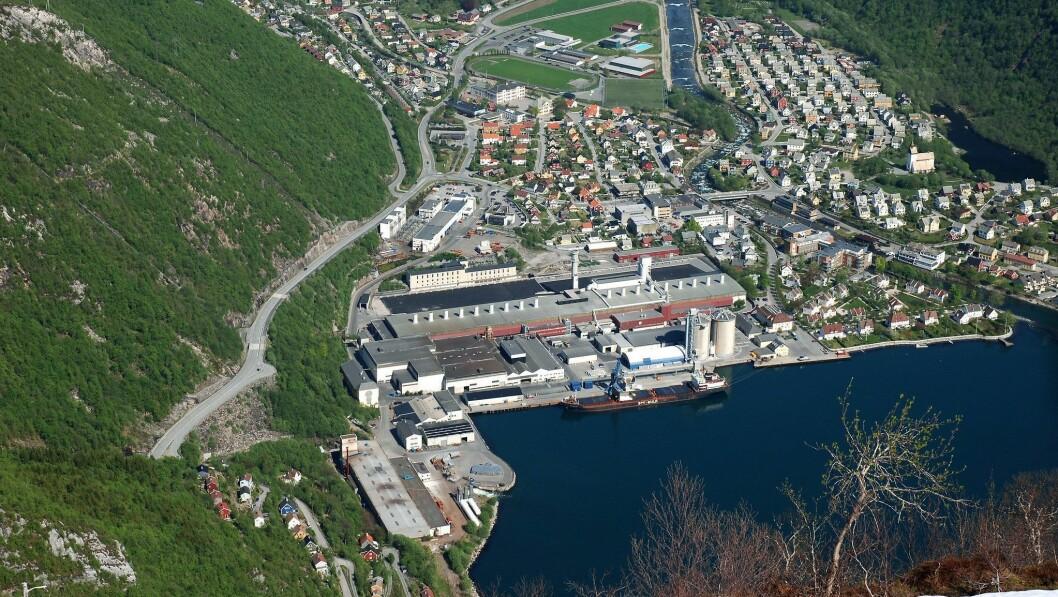 I PLUSS: Hydro Høyanger gjekk med overskot i tredje kvartal.