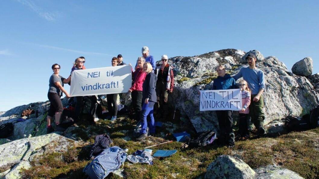 KAMP: Einar Rysjedal i Raudt Høyanger fryktar at skrotinga av nasjonal ramme kan bety at vindkraftutbyggjarane får endå friare vilkår.