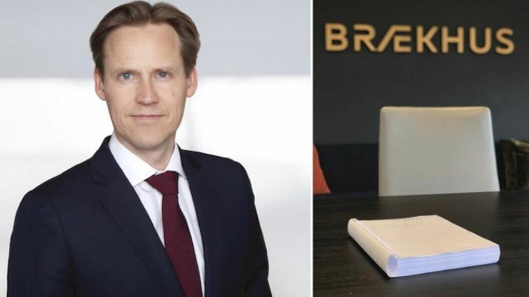 FAKTA PÅ BORDET: Eivind Arntsen i Brækhus Advokatfirma har vore sentral i det eksterne varslingssekretariatet som har laga den endelege rapporten om konfliktane i barnevernet.