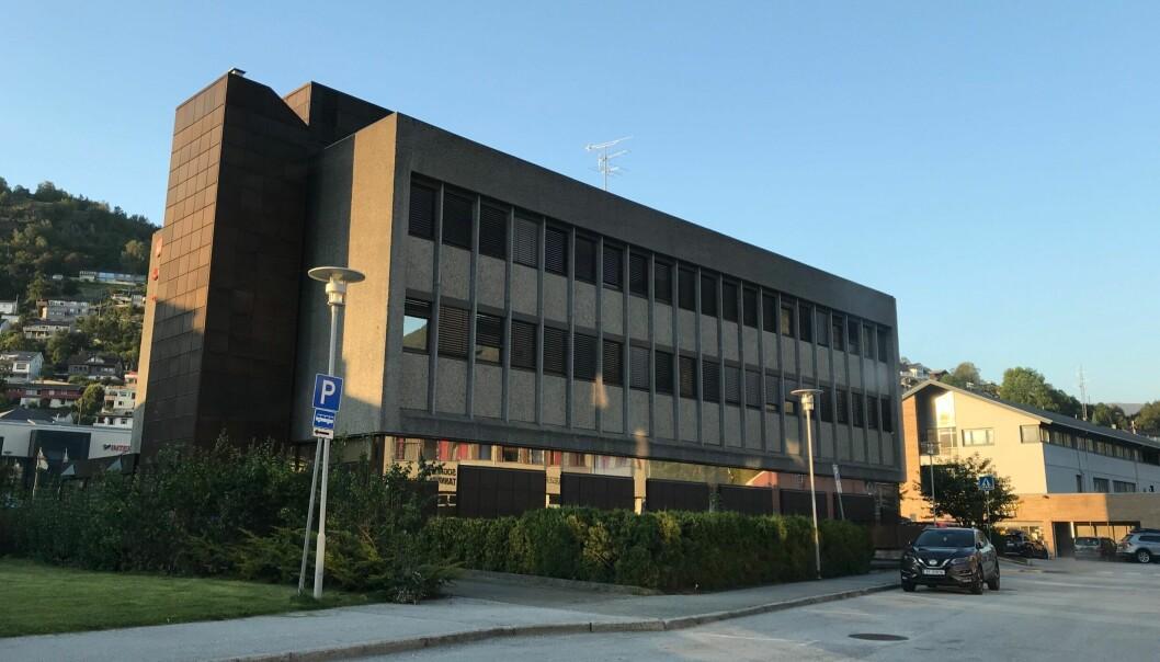 SELD: Bankbygget i Sogndal er kjøpt av Einarsen Eigedom.