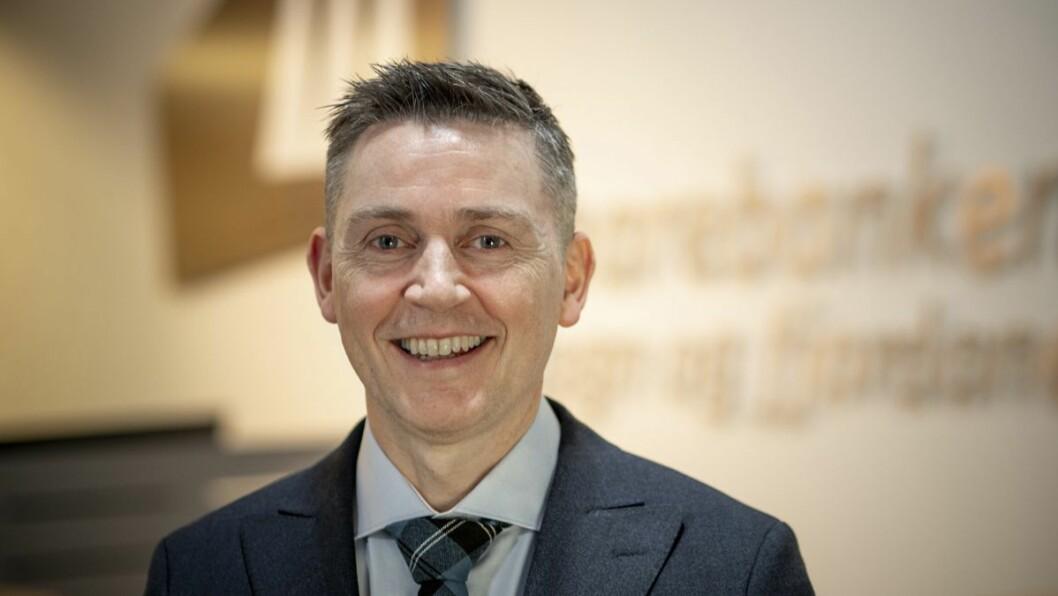 NØGD: Administrerande direktør i Sparebanken Sogn og Fjordane, Trond Teigene, er glad for dei gode resultata banken kan vise til på fleire område.