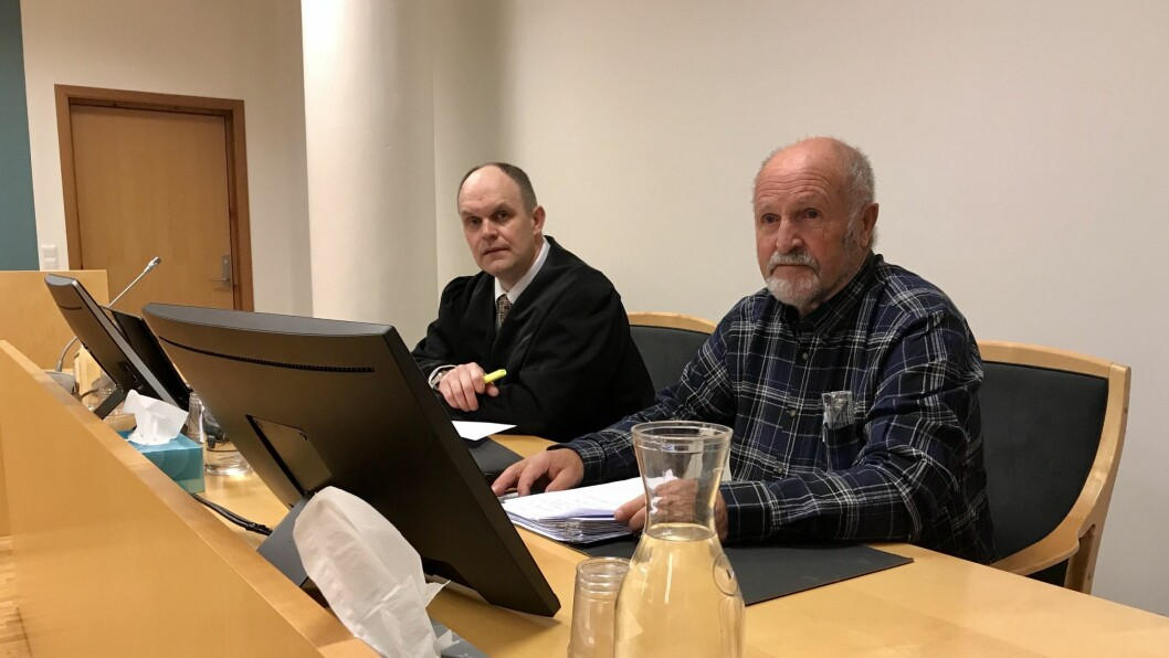 DØMD: Bloggar Alf Kollsete (85) er dømd til å betala 12.000 kroner i oppreising til barnevernsleiaren han kalla for