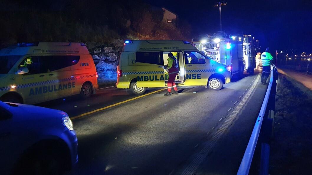 ULUKKE: Ei kvinne omkom i ei trafikkulukke i Flåm før helga.