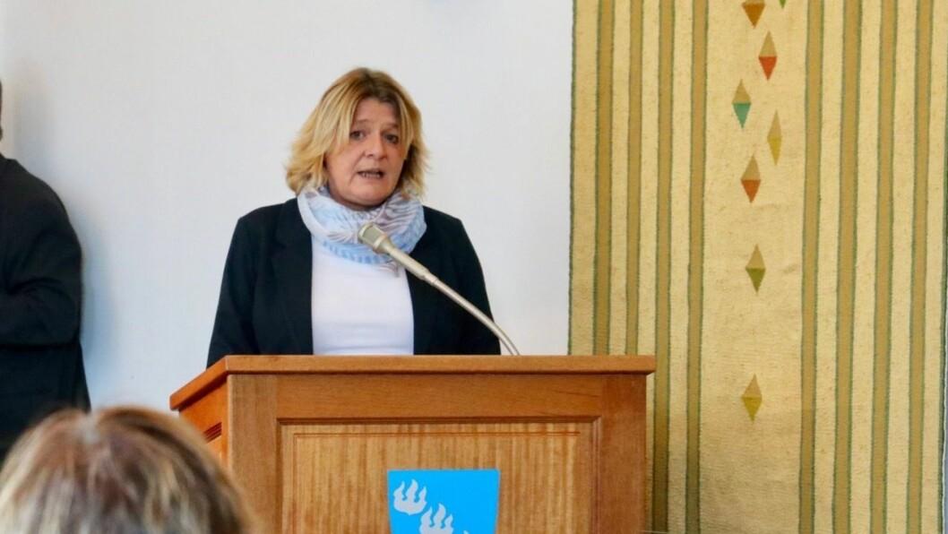 VIKTIG: Hege Rusti og Høyanger Ap meiner ei utekontaktstilling er viktig for førebyggjande arbeid i ungdomsmiljøet.