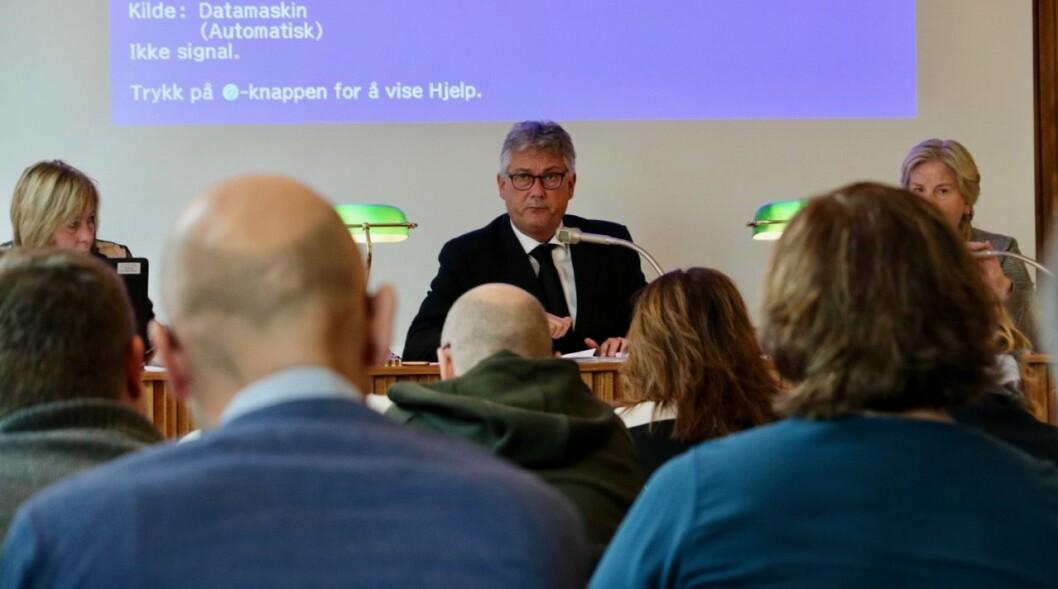 ANSVAR: Ordførar i Høyanger, Petter Sortland (Ap), meiner Høyanger kommune saman med andre må ta ansvar for den humanitære krisa i Moria-leiren.