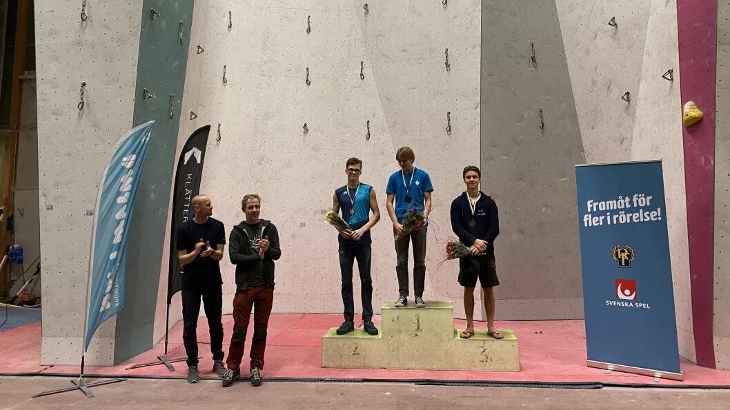 ANDREPLASS: I dag fekk Arne Farestveit andreplass i nordisk meisterskap i ledklatring.