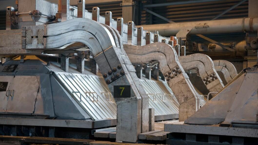 GJENVINNING: Metallrestane i elektrolysecellene som vert tekne ut av drift kan bli gjenvunne dersom pilotprosjektet til Hydro Høyanger lukkast.