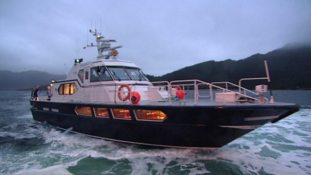 ENDRING: Gulenskyss AS endra i november kapitalen. Her er skyssbåten Tornerose som føretaket eig.