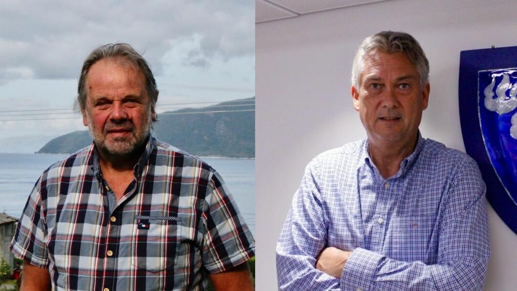 KRITISKE: Hallvard Oppedal og Petter Sortland er blant dei seks ordførarane som meiner at vindindustriselskapet Zephyrskaper store konflikter i områda deikartlegg iSogn og Fjordane og Hordaland.