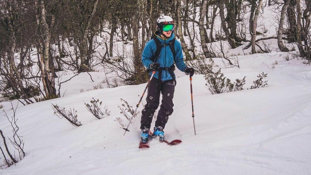 SKREDFARE: Det kan vere farleg terreng for skientusiastar no.