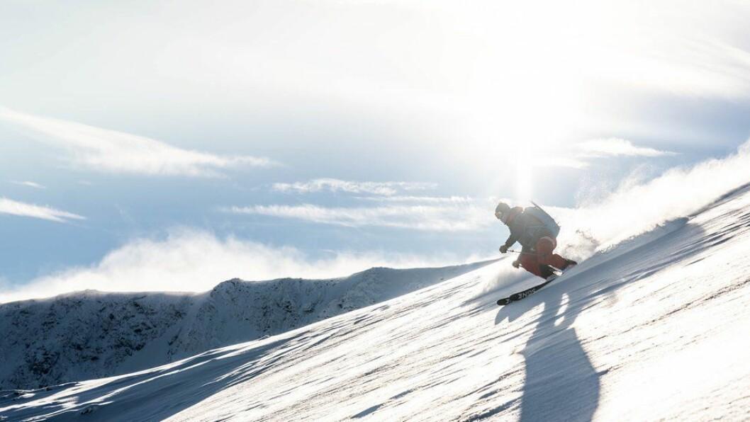 OPPSKRIFTA PÅ EIN KNALLSESONG: Rikeleg med snø, kuldegrader, mange snøfall og stabilt vêr.