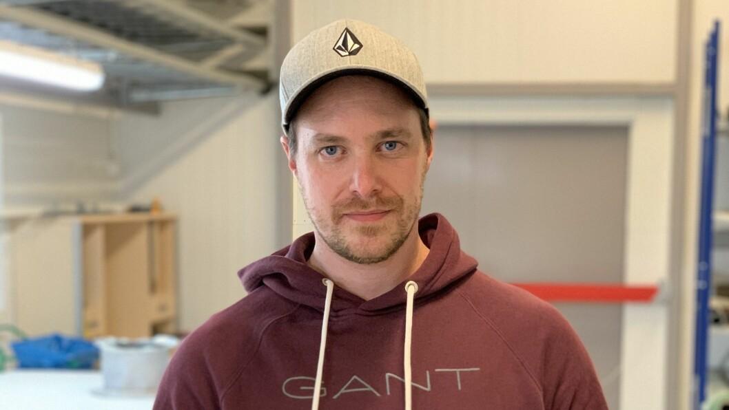KONTORSJEF: Dennis Jensen trur samarbeid med lokale bedrifter kan vere alfa omega.