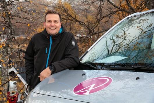 Jan Stian Smedegård er nytilsett som dagleg leiar i Årdalsnett, men kjenner verksemda godt, og er delaktig i utbygginga av fiber på Filjefjell.