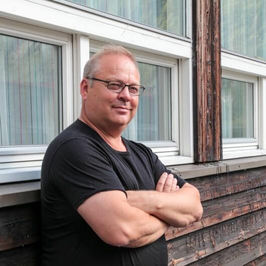 Geir Kjetil Øvstetun brukar hytta meir etter at han fekk lagt inn fiber frå Årdalsnett.