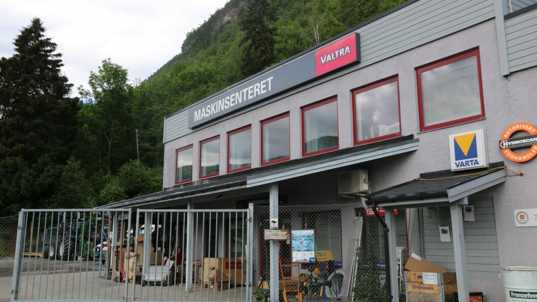 FUSJONERTE: Maskinsenteret har fusjonert og fått det nye namnet Maskinsenteret Vestland AS.